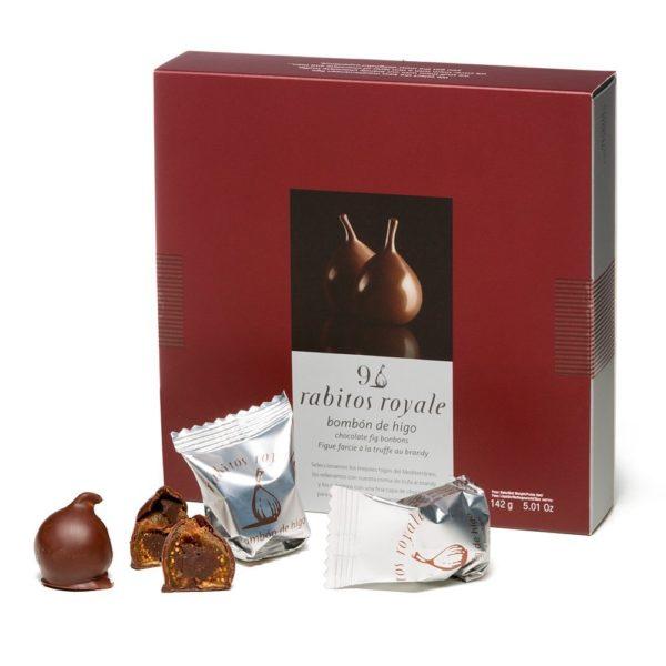 Купить конфеты Испанский инжир в шоколаде Rabitos Royale 9 шт