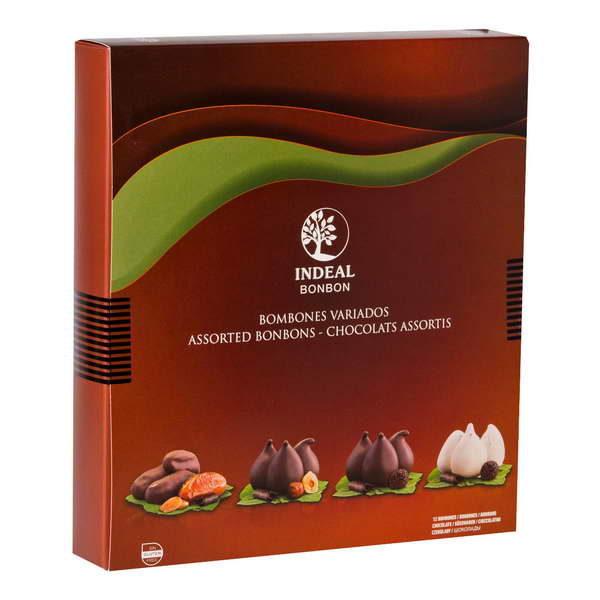 Купить Инжир в шоколаде ассорти, 4 вида Ideal Bonbon