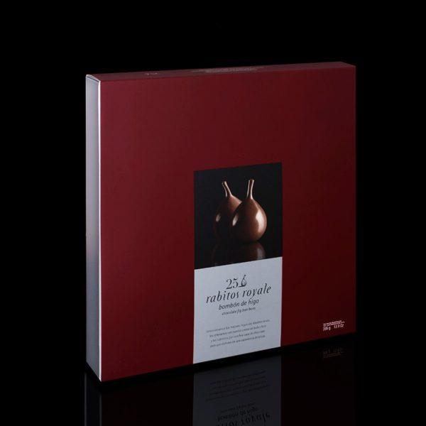 Конфеты Инжир в шоколаде Rabitos Royale 25 шт цена купить