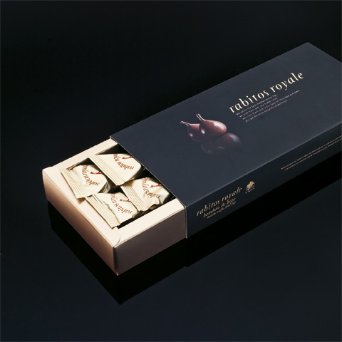 Конфеты Инжир в шоколаде Rabitos Royale 8 шт купить Украина