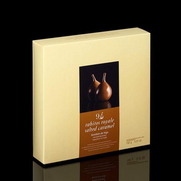 Купить Конфеты инжир в шоколаде соленая карамель rabitos royale salted caramel 9 шт
