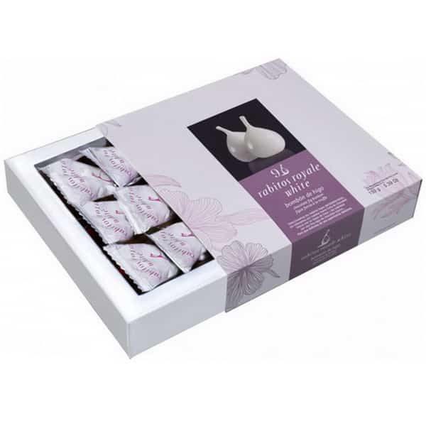 Rabitos Royale White Купить конфеты Инжир в белом шоколаде Новые