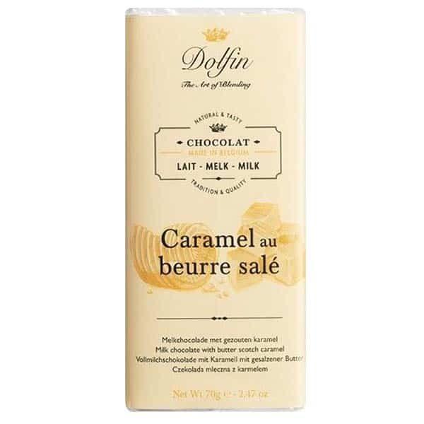 Купить шоколад соленая карамель salted caramel бельгия Dolfin
