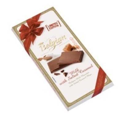 Купить шоколад соленая карамель salted caramel бельгия The Belgian