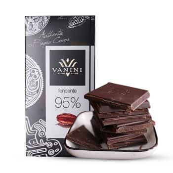 Шоколад 95% какао Vanini горький купить цена Украине доставка