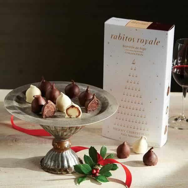 Конфеты Инжир в шоколаде Rabitos Royale 3х6 шт 292г