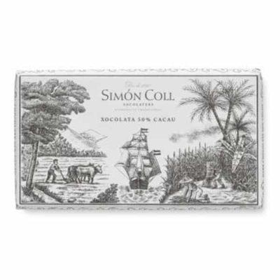 Купить горький шоколад Simon Coll 50% Испания цена в Украине, 200 г