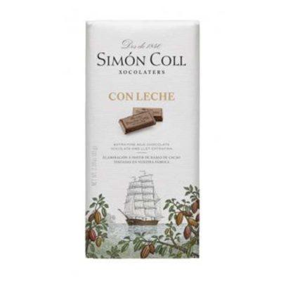 Купить Молочный шоколад Simon Coll Con Leche, 32% какао, Испания, 85 г