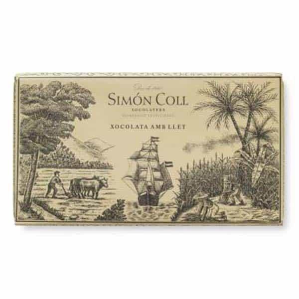 Купить молочный шоколад Simon Coll 30% Испания цена доставка по Украине 200 г