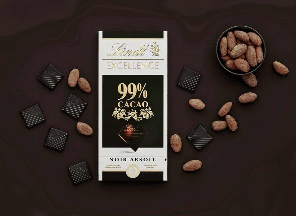 Шоколад 99% какао темный горький купить цена Lindt Excellence Dark