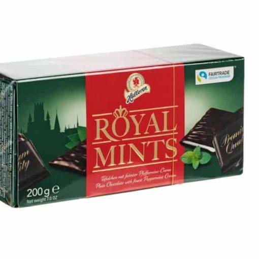 Купить Конфеты шоколадные с мятной начинкой Royal Mints Halloren