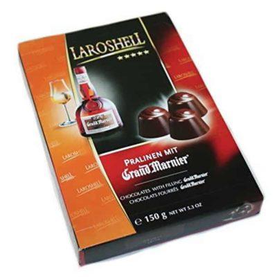 Купить Конфеты шоколадные с ликером Grand Marnier Liqueur Laroshell 150 г