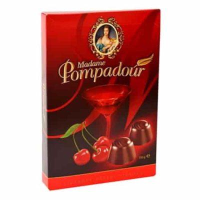 Купить Конфеты шоколадные вишня в коньяке Madame Pompadour 150 г
