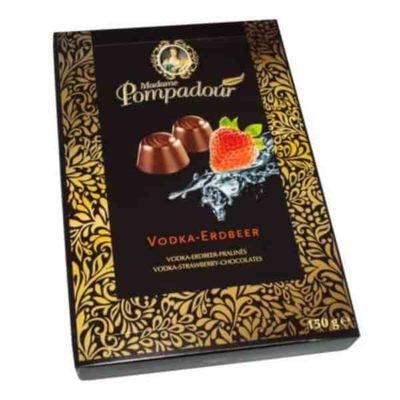 Купить Конфеты шоколадные с Cherry and Vodka Madame Pompadour 150 г