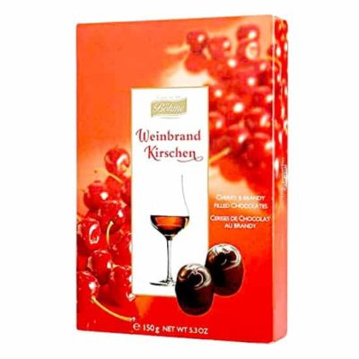 Купить Конфеты шоколадные Cherry and Brandy Bohme Вишня в коньяке 150 г