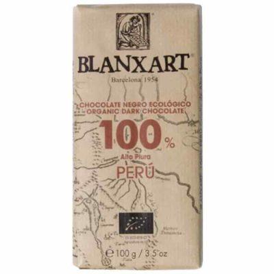 Шоколад 100% какао темный горький купить цена Blanxart испания