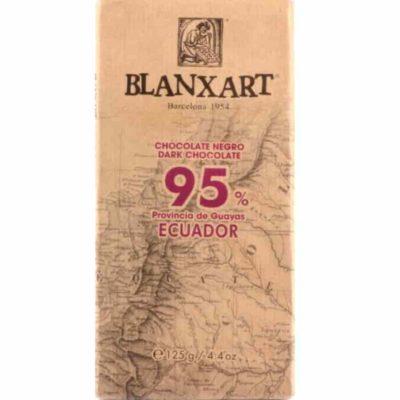 Шоколад 95% какао темный горький купить цена Blanxart испания