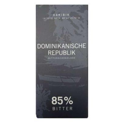 Купить Горький темный шоколад Meybona 85% какао из Доминиканской республики, 100 г