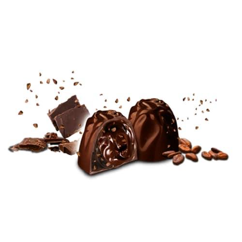 Шоколадные конфета Noir Witor's с какао-бобами, 200 г