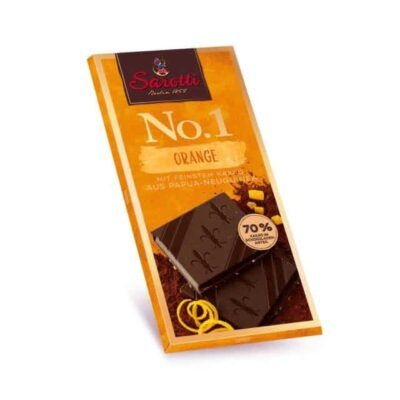 Купить Горький темный шоколад Sarotti с апельсином и содержанием 70% какао, Германия, 100 г
