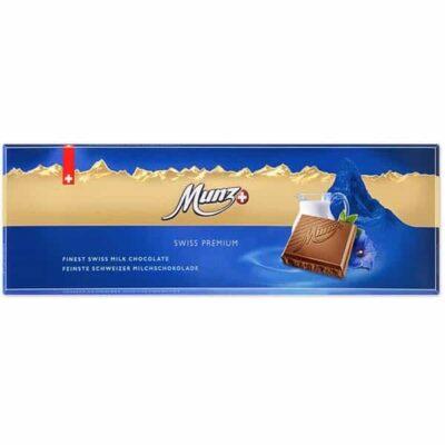 Купить Молочный шоколад Munz Swiss Premium 300 г, Швейцария