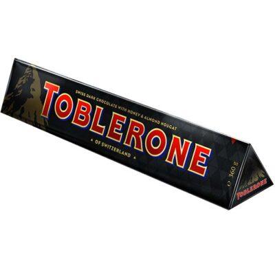 Купить Черный шоколад Тоблерон (Toblerone) 50% какао, Швейцария, 360 г